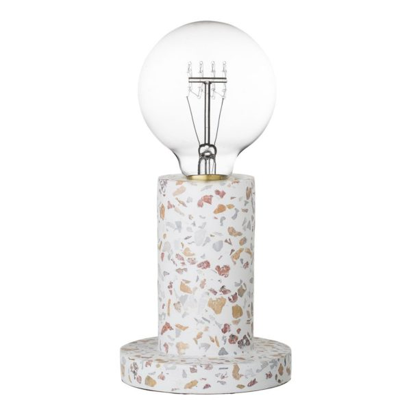 beton asztali lámpa
