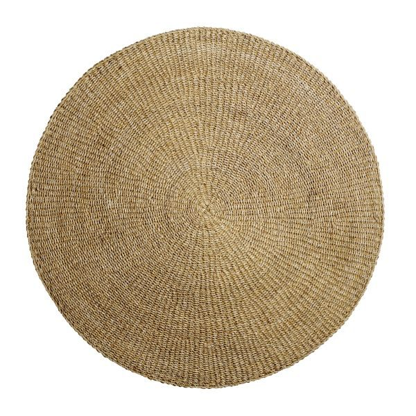 Kör alakú tengerifű szőnyeg
