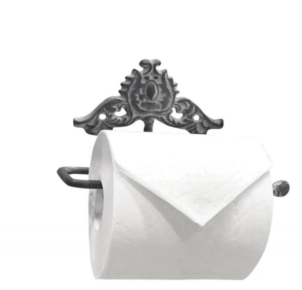 WC papír tartó shabby chic toalett papír tartó