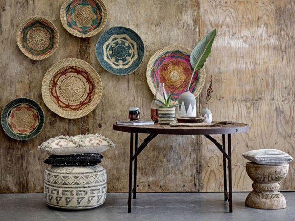 Fa asztal újrahasznosított fából rusztikus stílusban