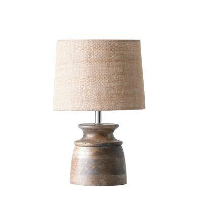 Asztali lámpa mangó fából