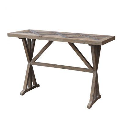 Asztal újrahasznosított fából