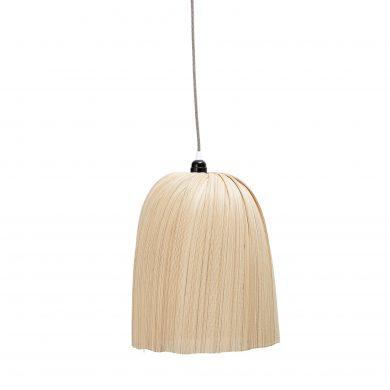 Skandináv bambusz függőlámpa
