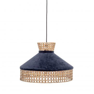 Kék függőlámpa skandináv mennyezeti lámpa