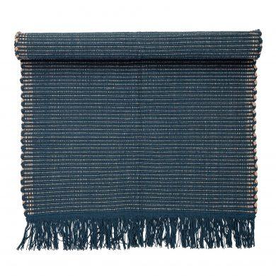 Kék pamut szőnyeg