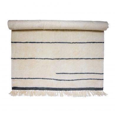 Csíkos gyapjú szőnyeg