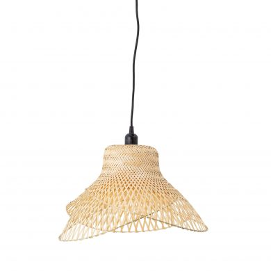 Légies bambusz mennyezeti lámpa