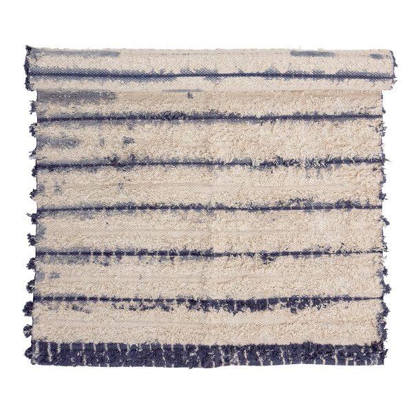 Kék mintás pamutszőnyeg