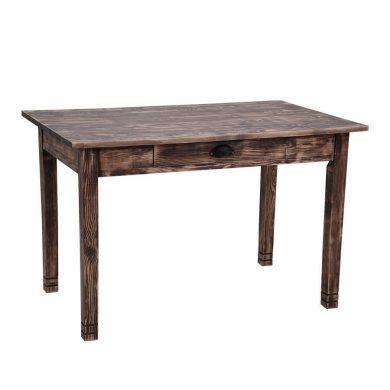 vintage fa asztal