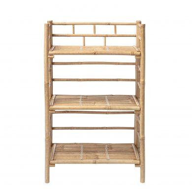 Bambusz polcos szekrény