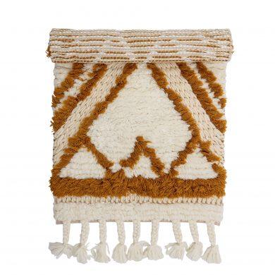 bézs gyapjú szőnyeg