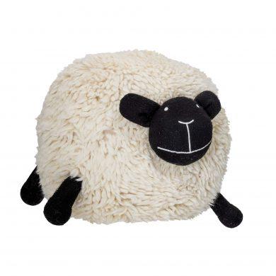 Gyerekszobai gyapjú puff juh bárány forma
