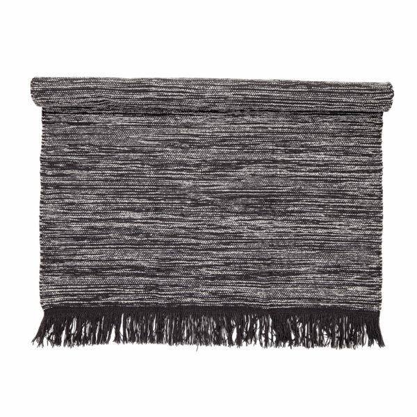 Szürke gyapjú szőnyeg 140 x 200 cm
