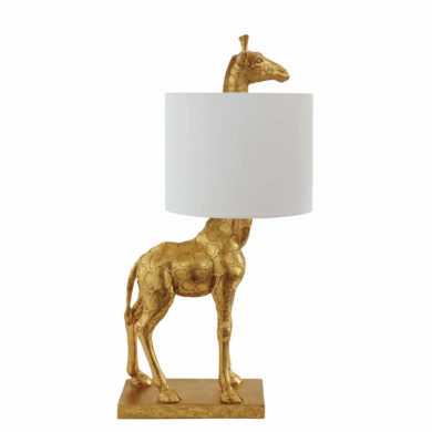 Asztali lámpa zsiráf art deco