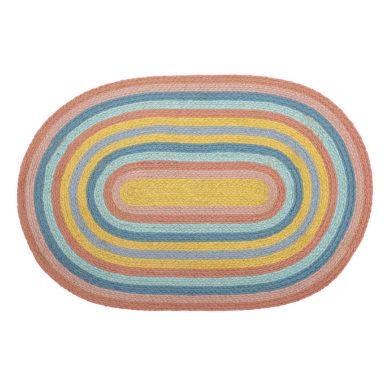 Szivárványos gyerekszoba szőnyeg