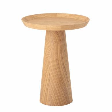 Natúr tölgy kisasztal