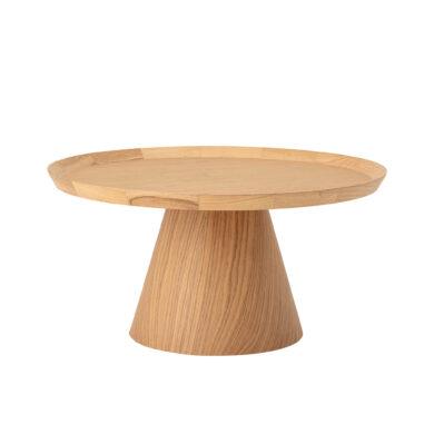 Natúr tölgy kávézóasztal