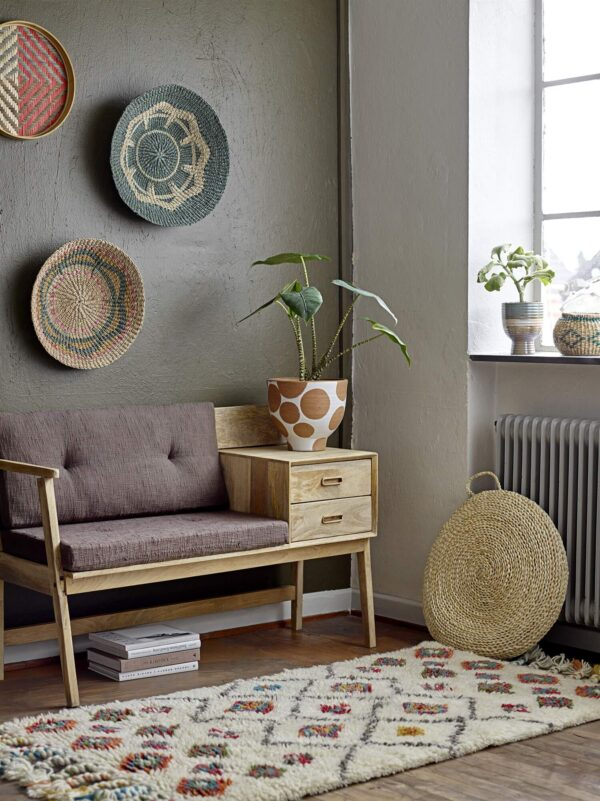 Mangófa ülőpad szekrénykével