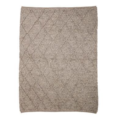 Barna gyapjú szőnyeg