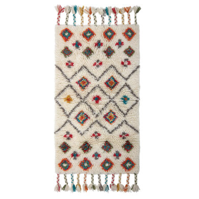 Bohém mintás gyapjú szőnyeg