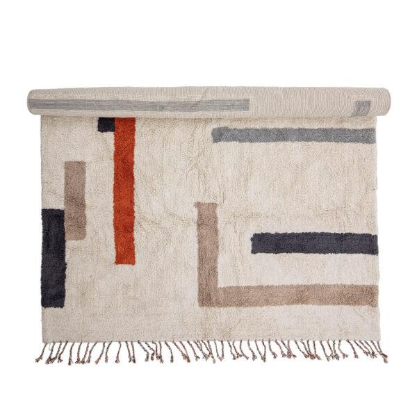 Csíkos pamut szőnyeg
