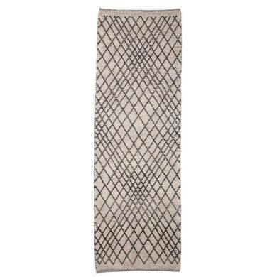 Szürke skandináv gyapjú szőnyeg