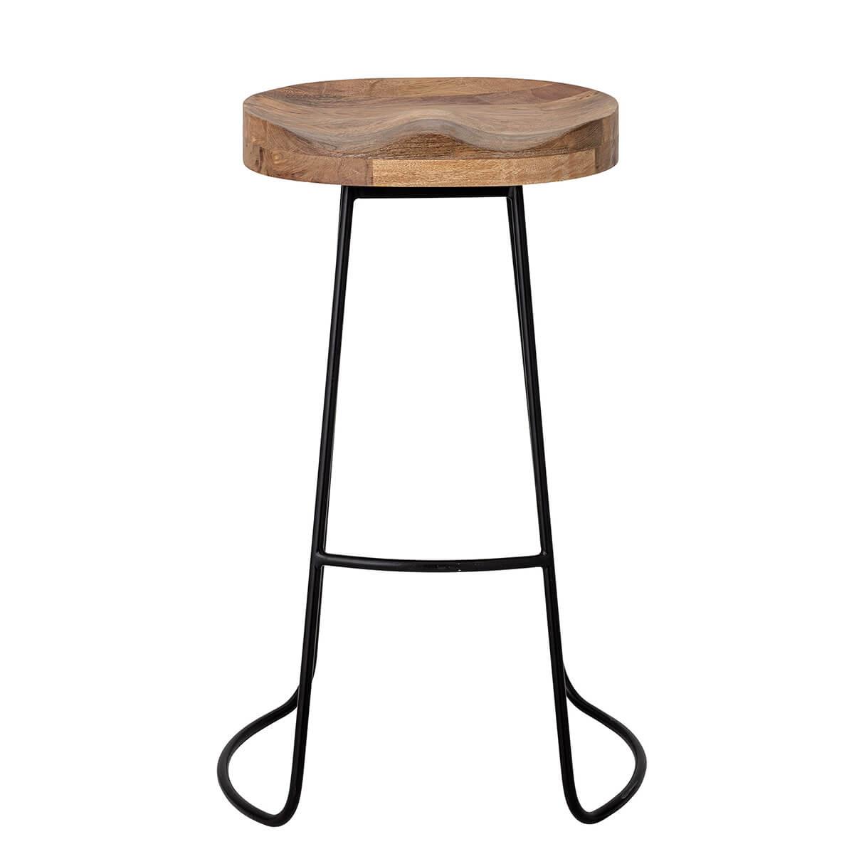 Bárszék mangófából elegáns skandináv bútor
