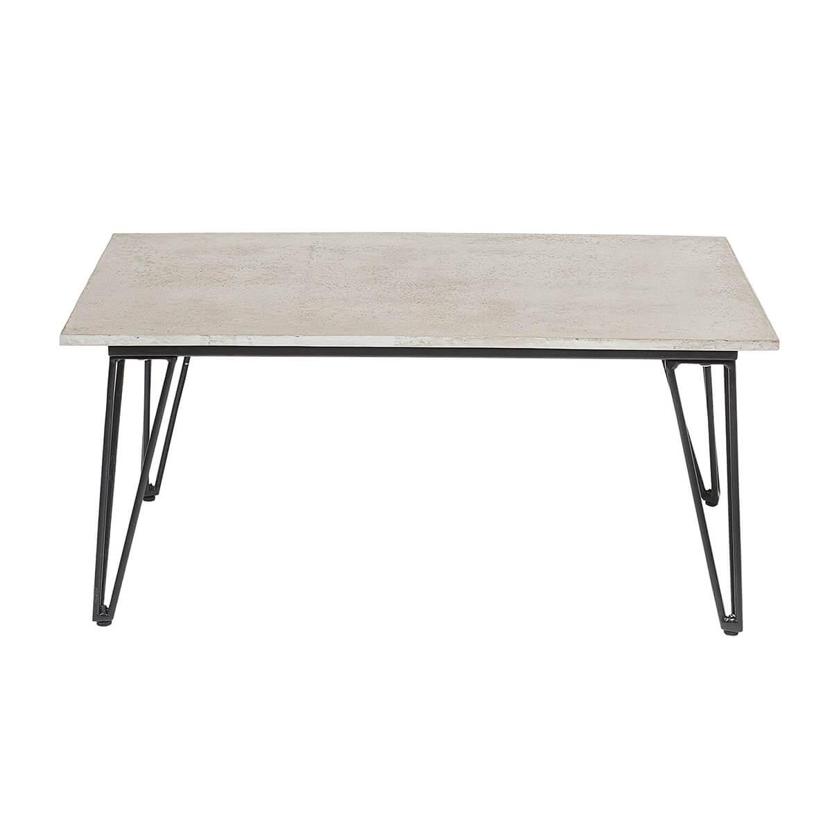 Beton dohányzóasztal cement asztallap skandináv stílus