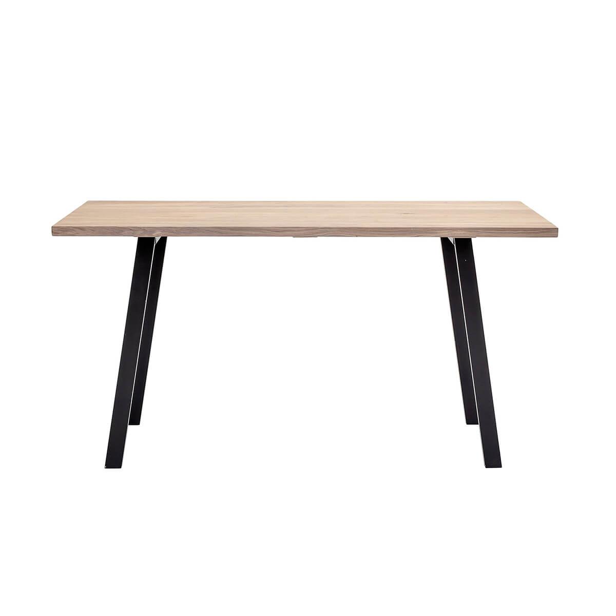 Tölgy asztal minimalista skandináv design
