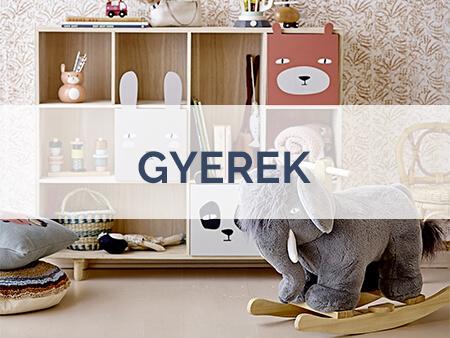 Skandináv gyerekszoba bútor és játék Maileg