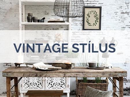 Vintage stílus skandináv lakberendezés, bútorok, asztalok